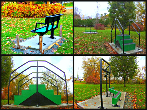 Montage Danville 500x375 Accessible Outdoor Fitness   Saint Amable