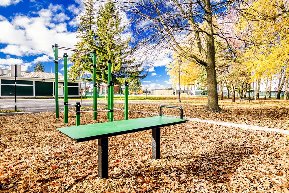outdoor fitness Bancs pour abdominaux