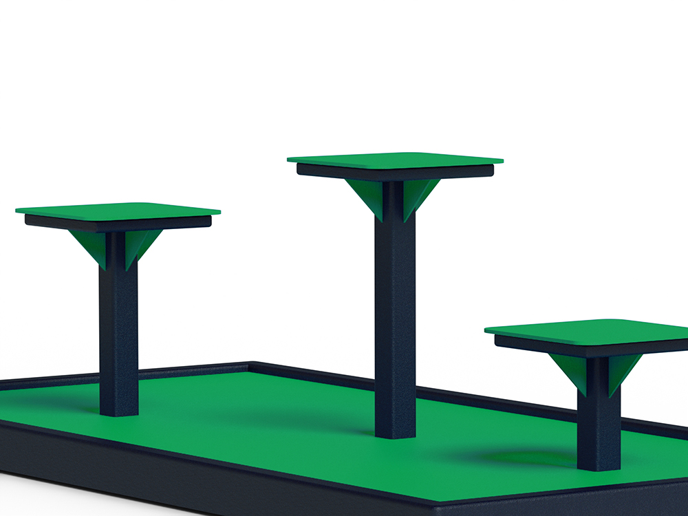 step up Box Jump for Calisthenics Exerciseurs pour jambes