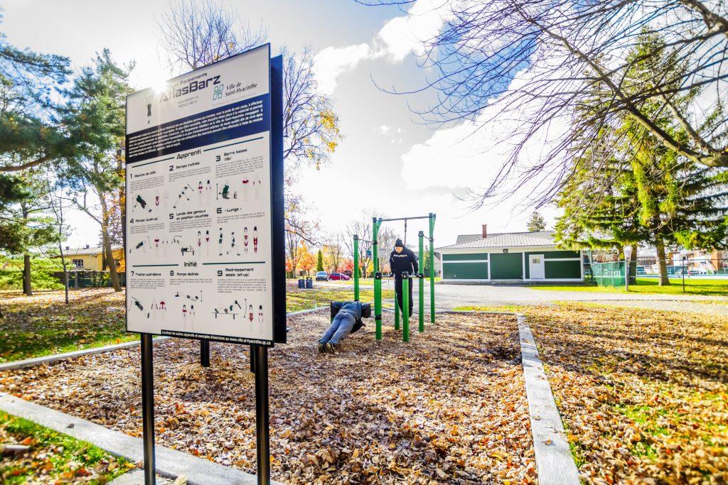 Parc Entrainement Exterieur St Hyacinthe 2016 Workout Park Station dexercice ABZ 02