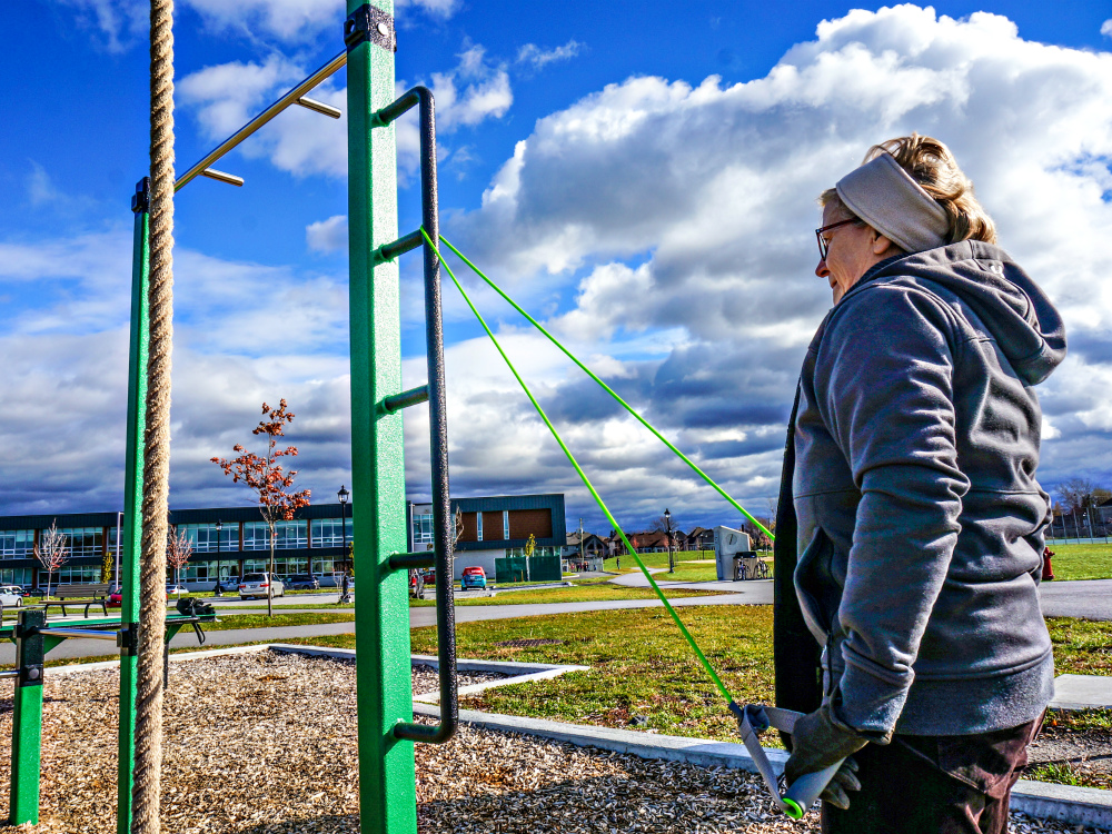 Chambly atlasbarz entrainement urbain 1 Parcours actif pour entreprises en santé