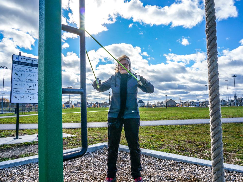 Chambly atlasbarz entrainement urbain 2 Sentraîner à lextérieur avec des bandes élastiques