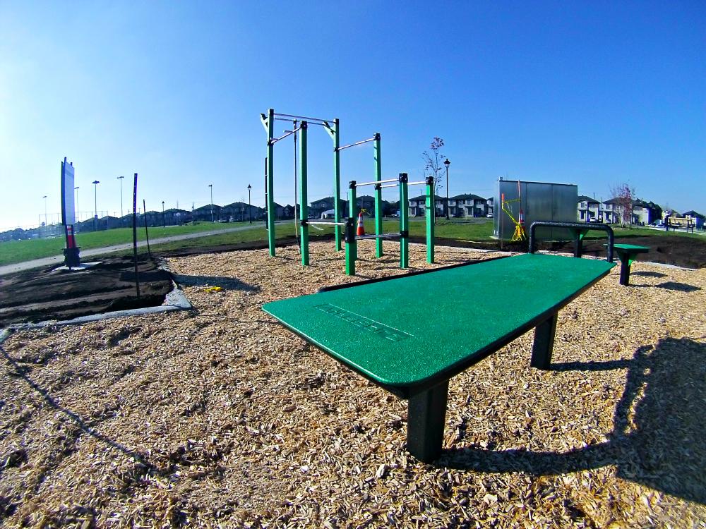 station exercice en plein air atlasbarz Urban Workout   Chambly