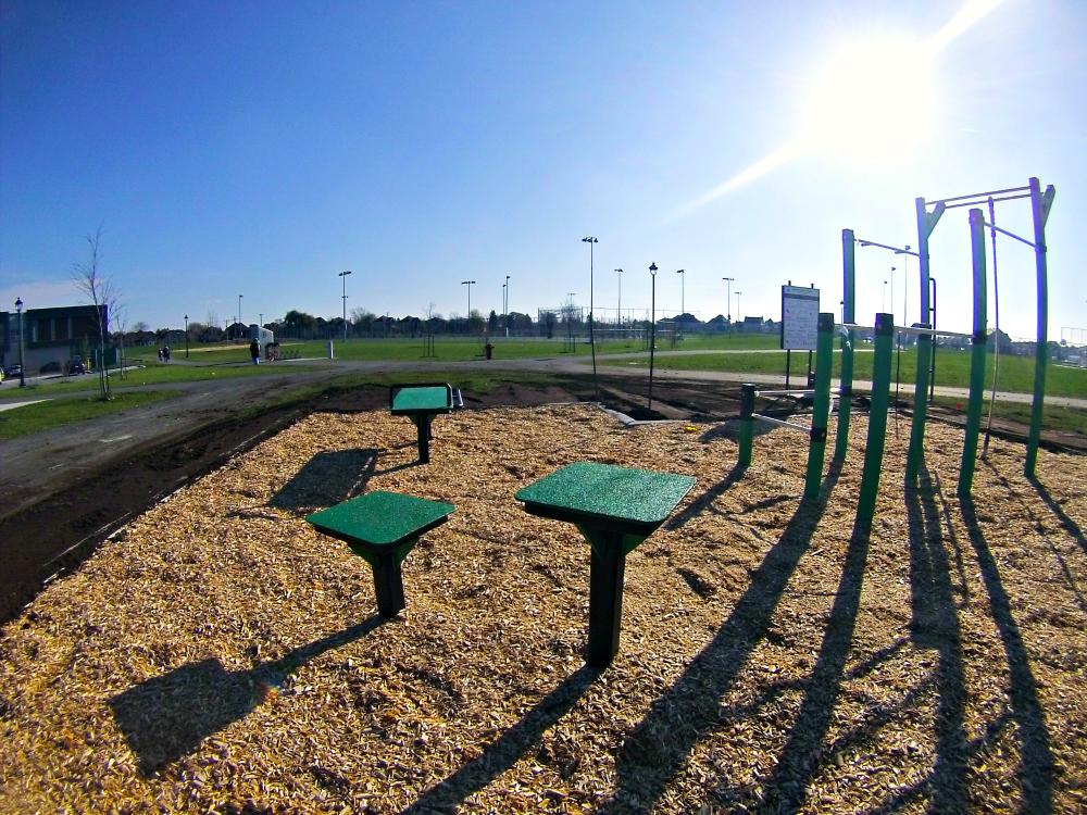 stepbox et banc abdominaux plein air Urban Workout   Chambly