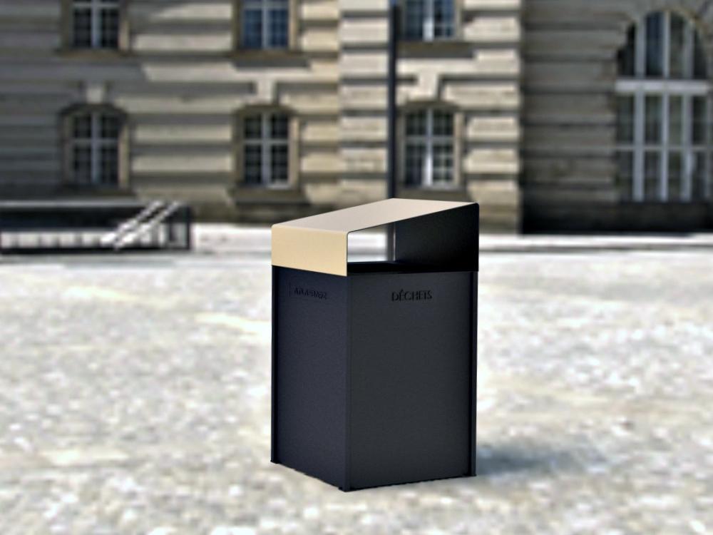 poubelle publique mobilier urbain novateur les. Black Bedroom Furniture Sets. Home Design Ideas
