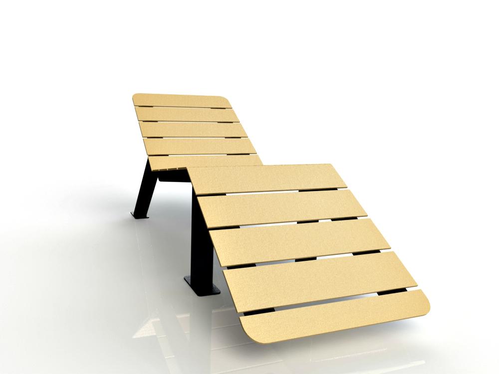 chaise longue pour parc atlasbarz 2018 Chaise longue   ABZSUN 01