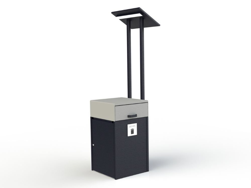 poubelle etl uminaire 1000x750 Collecteur à rebuts intelligent