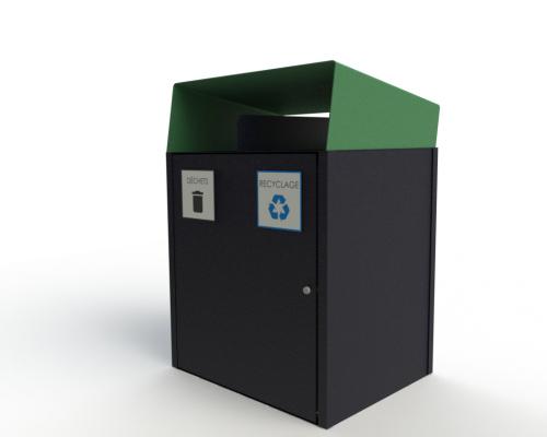 Collecteur extérieur modulaire 2 fonctions 500x400 Mobilier urbain