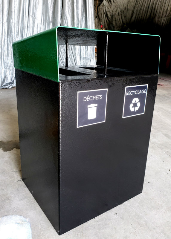 collecteur urbain atlasbarz 2020 Waste collector   Multifunctional station (waste   recycling   compost   returnable)