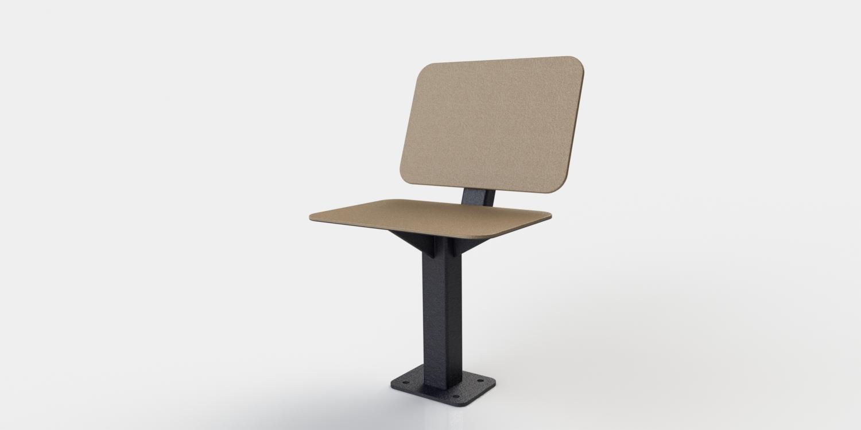 Chaise urbaine atlasbarz Chaise urbaine   ABZCHAIR 01