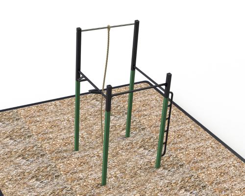 module barres traction corde a grimper atlasbarz thumbnail Exerciseurs pour parc
