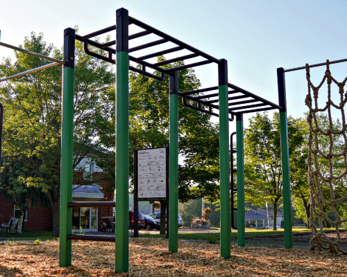 échelle horizontales double atlasbarz 1 Park Exercisers