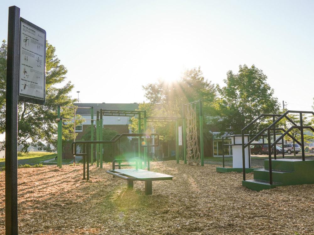 amenagement urbain atlasbarz Outdoor recreation   Saint Urbain Premier