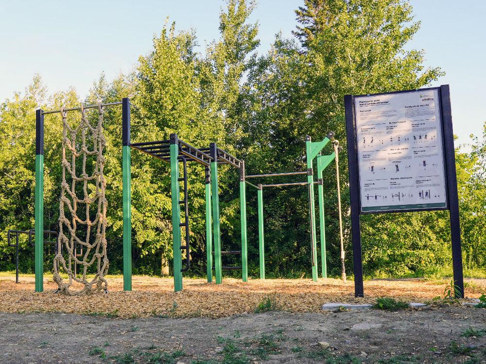 module actif adulte exterieur Outdoor recreation   Saint Urbain Premier