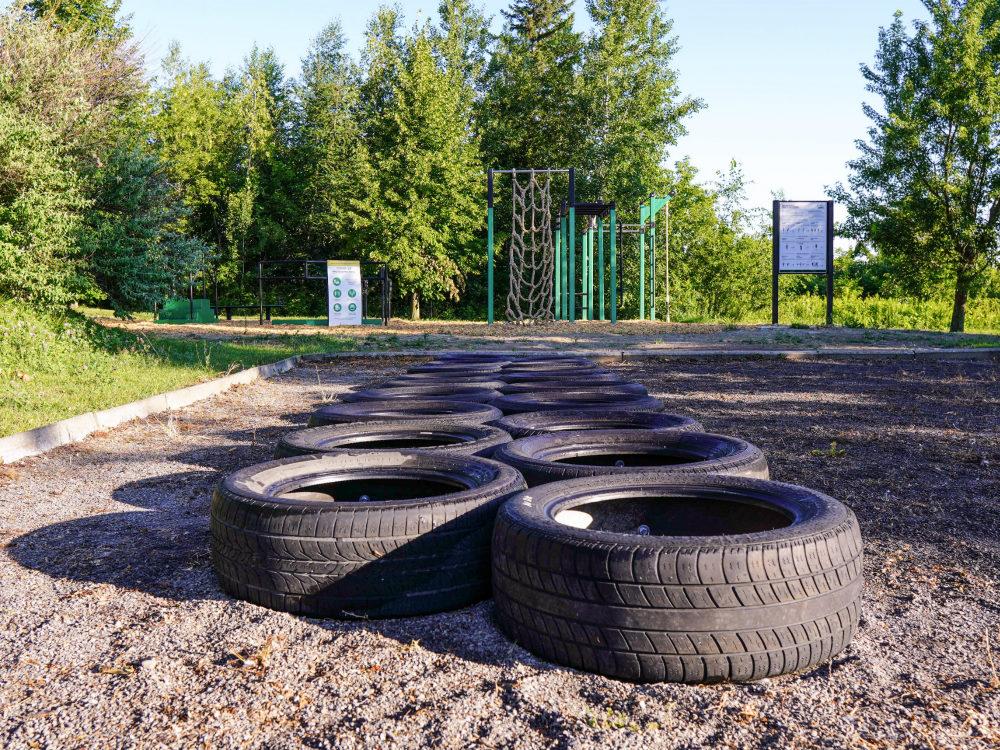 parcours pneus atlasbarz Outdoor recreation   Saint Urbain Premier