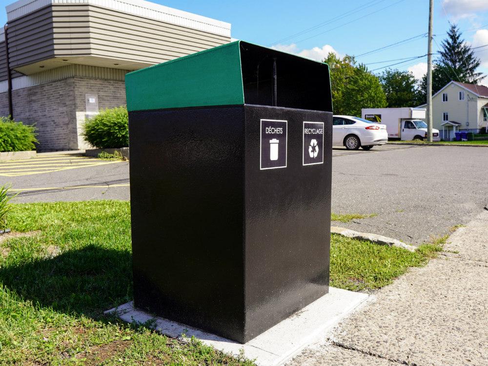 collecteur duo atlasbarz 2020 1 Collecteur à rebuts   Station multifonctions (déchets   recyclage   compost   consigné)