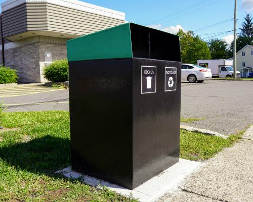 collecteur recyclage extérieur atlasbarz 2020 Site Furniture