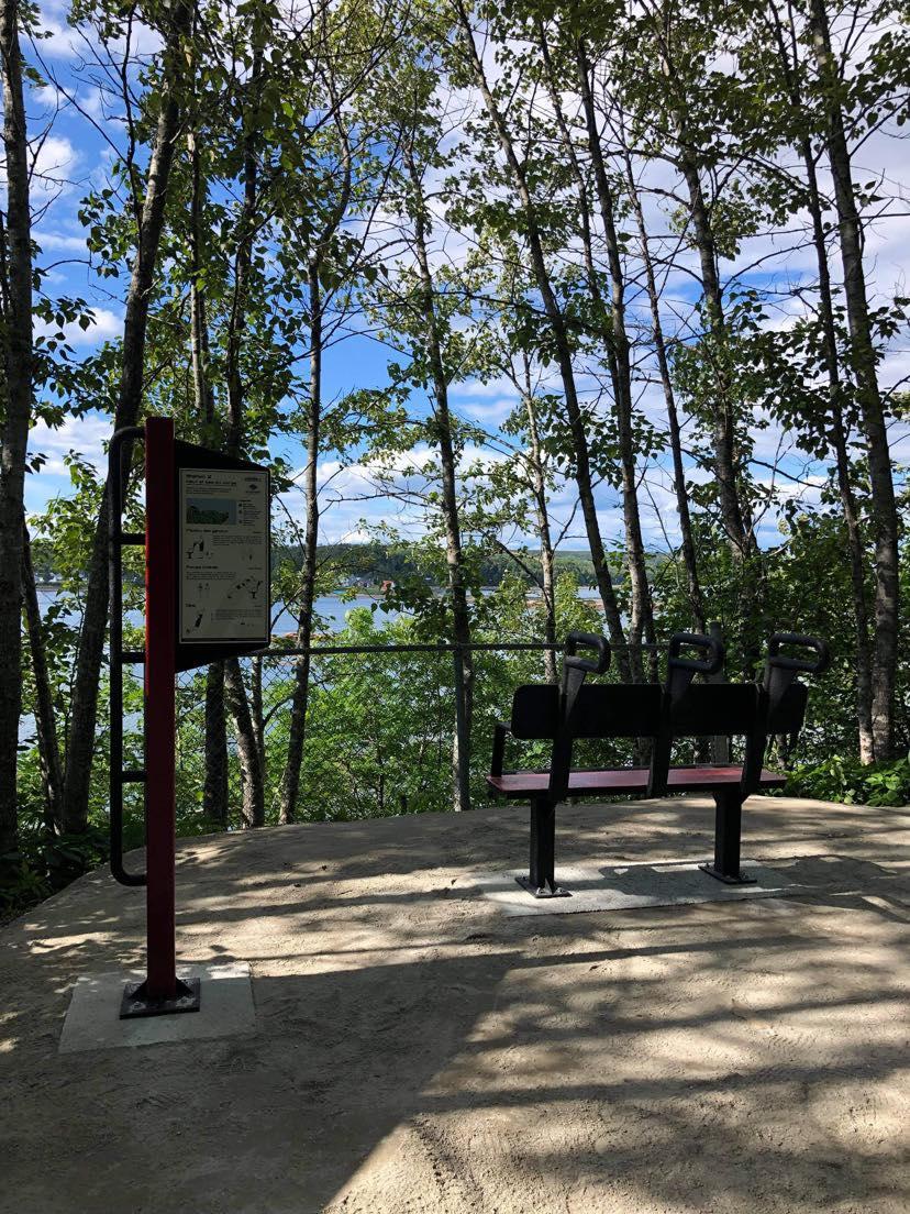 Parcours Actif Cote Nord Les Escoumins Fleuve Saint Laurent Parcours dentraînement actif   Les Escoumins