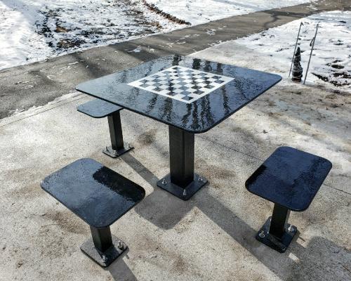 table exterieure damier atlasbarz 2020 500x400 1 Site Furniture